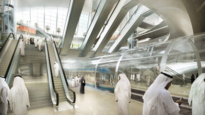 Gerber: Olaya Station interior