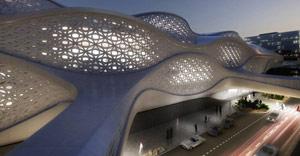 Zaha Hadid: KAFD Station exterior