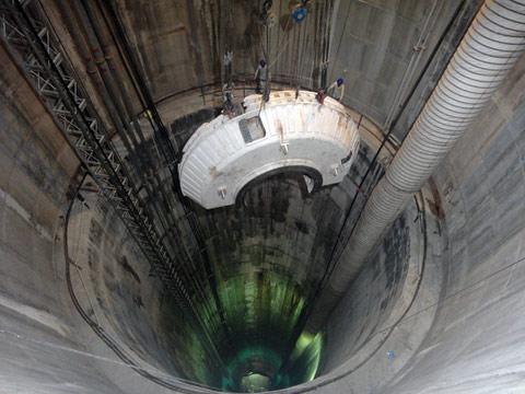 109m deep shaft at Mumbai