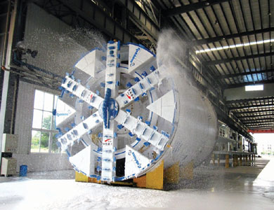 Factory testing of the Zhengzhou EPBM