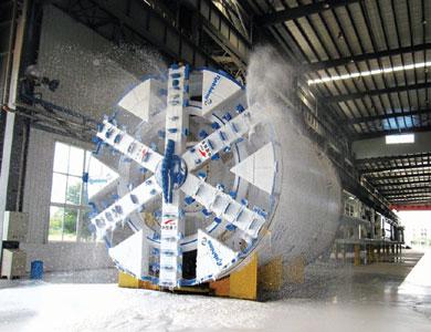 Factory testing of the Zhengzhou EPBM