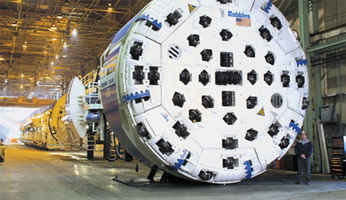 Ex-Kárahnjúkar Robbins TBM will drive the new hydro tunnels