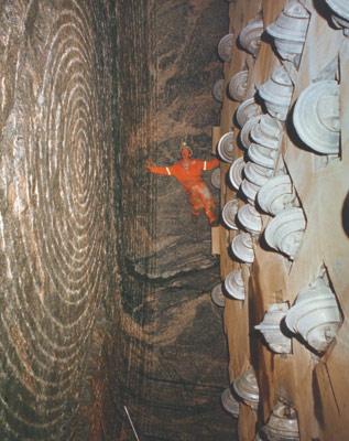 Cutterhead inspection in Norway (1980s)