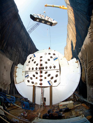 Niagara Tunnel Project saw first ever use of Onsite First Time Assembly (OFTA)