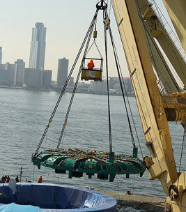 Giant 17.48m diameter cutterhead unloaded