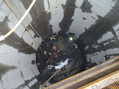 69th Street shaft  sinking