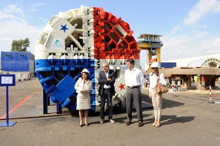 Aprilia factory acceptance of a Seli EPBM for Panama