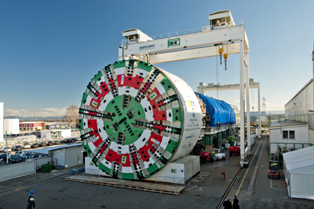 15.62m mega-TBM factory tested at Schwanau