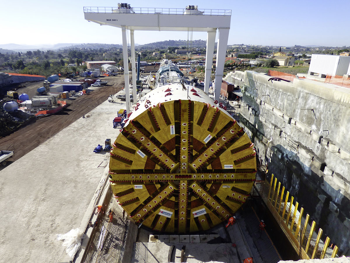 NFM mega-TBM launch ready on Sicily