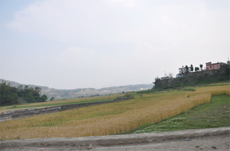 East entry to the Kathmandu Valley