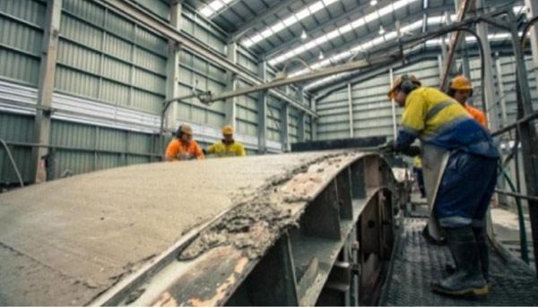 EFC precast concrete segments