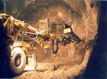 Drill+blast excavation