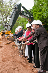 Project groundbreaking