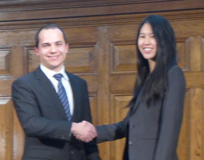 BTSYM Chair passes from Petr Salak to Joanne Sui