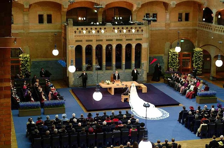 The Beurs van Berlage hosted a royal wedding in 2002