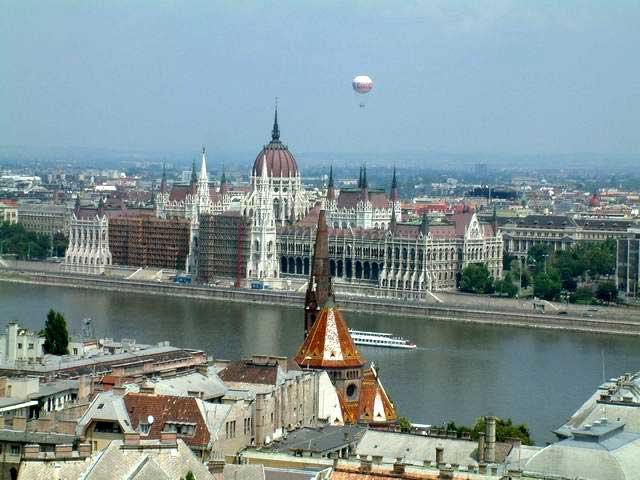 New line passes under the Danube and the historic heart of the city