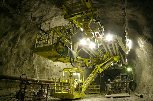 Bilfinger is involved in Gotthard base tunnel construction