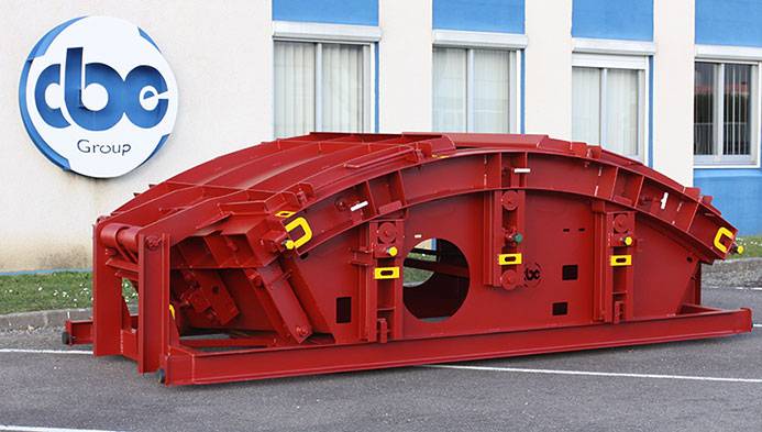 CBE specialises in production of steel segment moulds