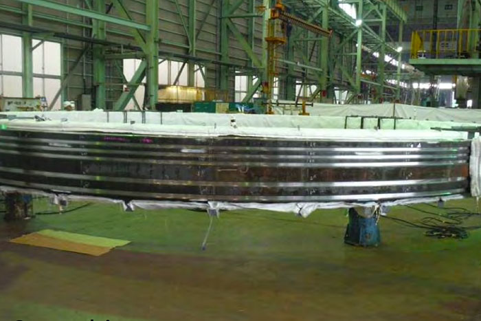 New outer seal ring fabrication