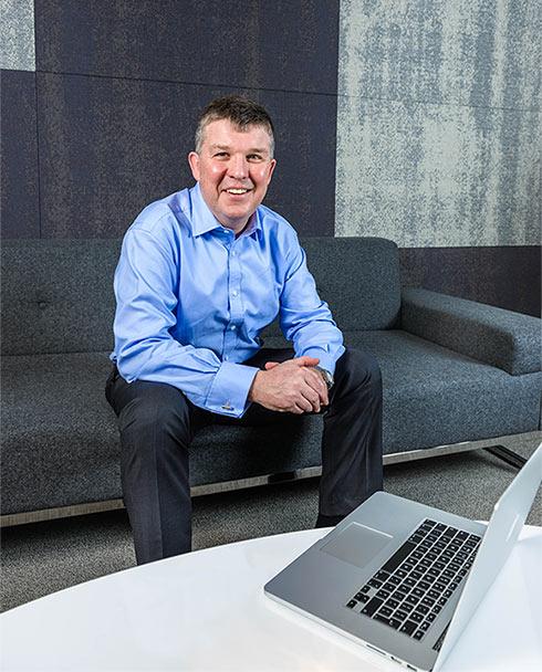 New Chief Executive John Evans
