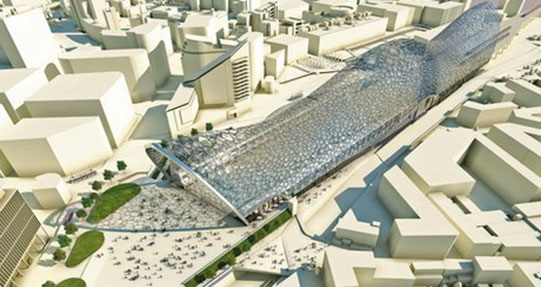 New high speed rail station planned for Birmingham