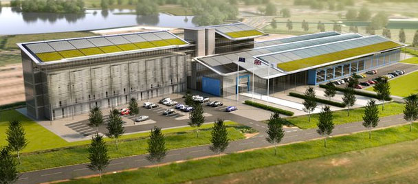 New high speed rail college in Doncaster, UK