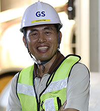 GS E&C Project Manager Eng Chang