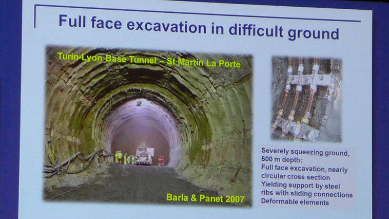 Full face or sequential face excavation – that is the question