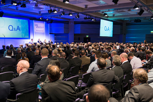 800 delegates attended the Manchester supply chain conference
