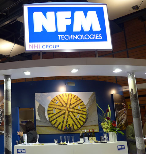 NFM stand ready to greet visitors