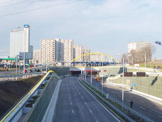 Portal to the Lefortovo tunnel