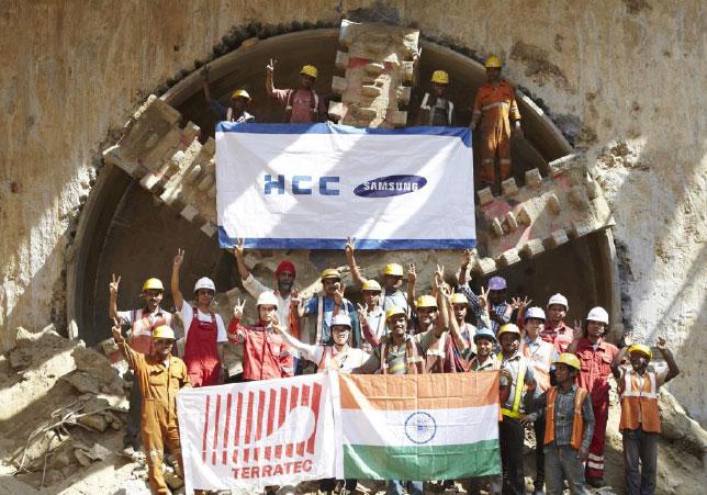 Celebrating breakthough at Janakpuri