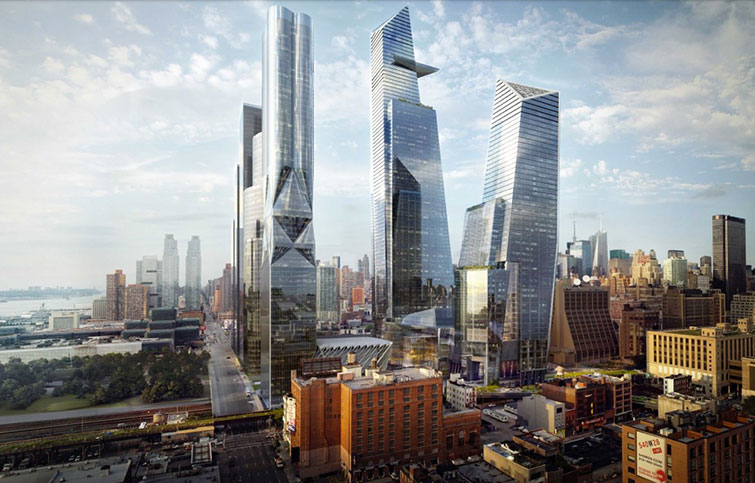 Hudson rail yards will sit underneath $20 billion development on Manhattan's West Side
