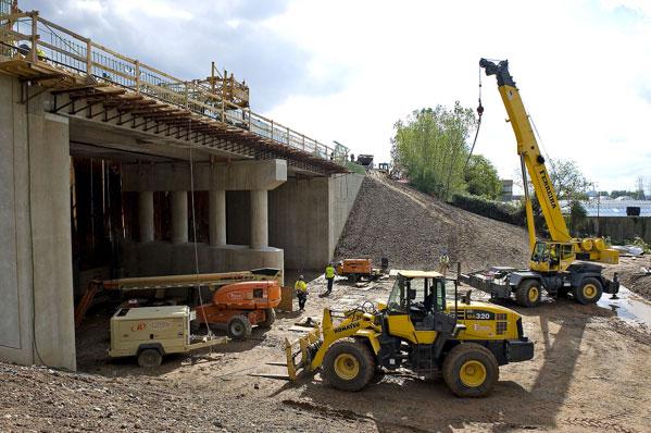 ARC tunnel construction in North Bergen (2010)