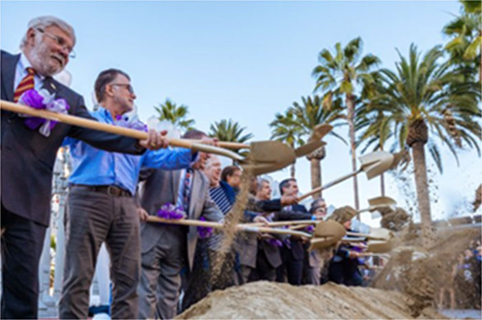 Groundbreaking for Phase I of the Purple Line Extension
