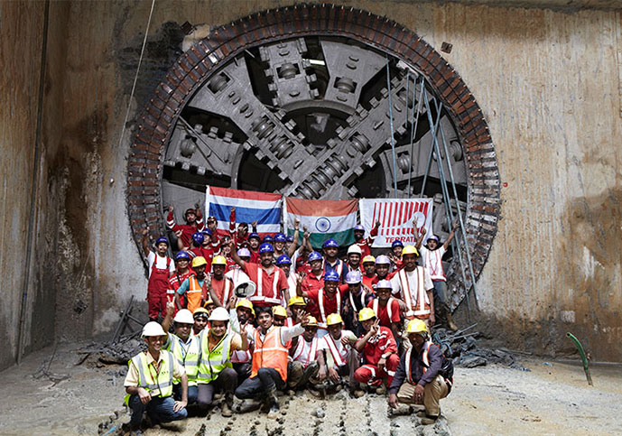 Another Delhi Metro breakthrough