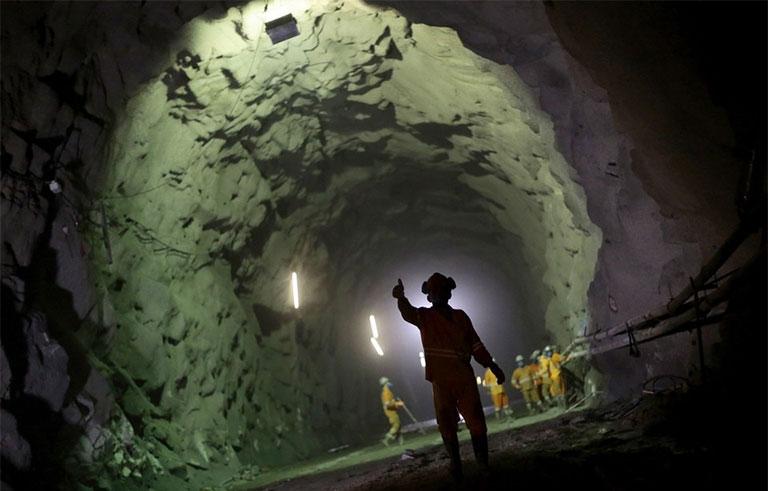 12km Cuncas I tunnel