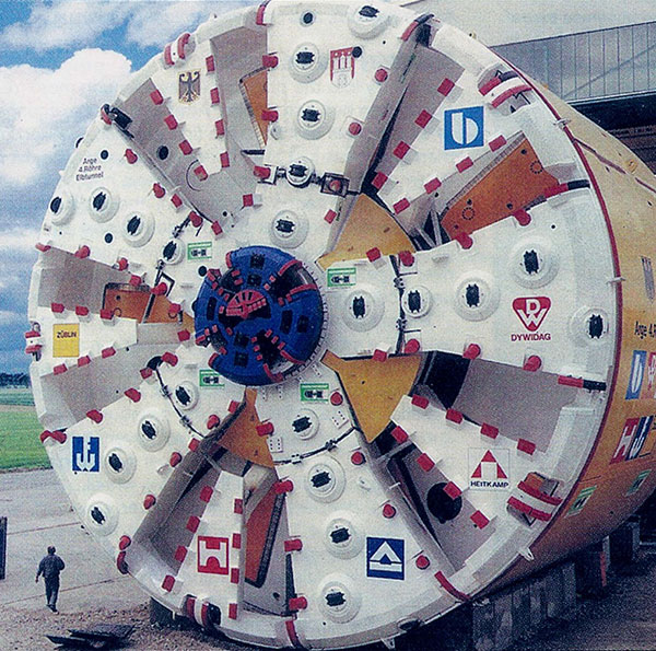 Mega 14.2m diameter Herrenknecht slurry-mode TBM engineered for the project