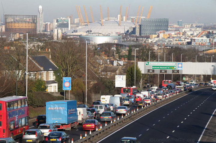 Blackwall Tunnel cannot cope with traffic demand