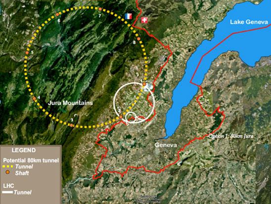 Fig 5. Jura Mountains alignment (90% limestone)
