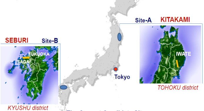 Site A is preferred Japanese site for the 30km ILC