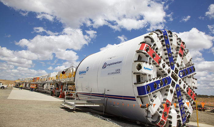 Robbins 8m TBM for coal mine drift