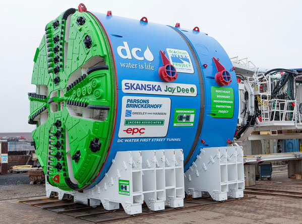Herrenknecht TBM for First Street Tunnel