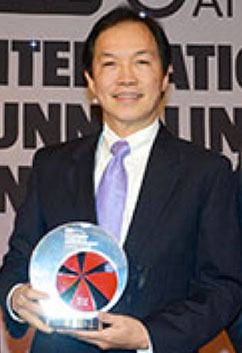 In December 2014 in London, Dato' Ir Ha Tiing Tai, Deputy Group Managing Director of Gamuda Berhad received the ITA International Tunnelling Award for Technical Innovation for the Variable Density TBM concept as developed in conjunction with Herrenknecht for use on the KVMRT tunnel drives through the karst limestone beneath Kuala Lumpur