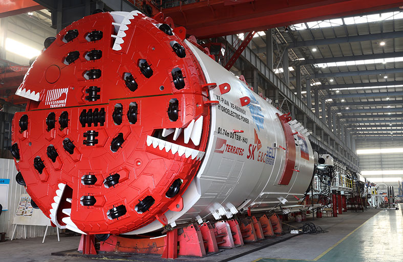 Seli to use Terratec TBM for hydro headrace drive
