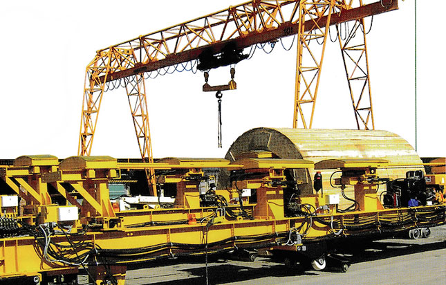 A new Mühlhäuser development tube transporter