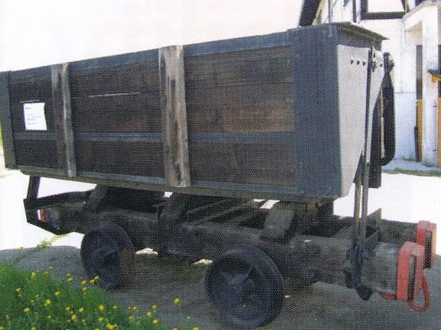 One of the original wooden box cars that started the brandname rolling stock