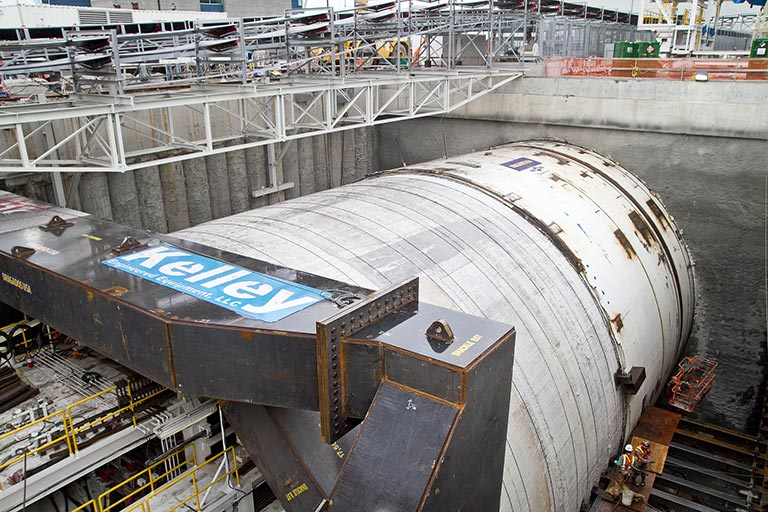 TBM Bertha ready to start tunneling