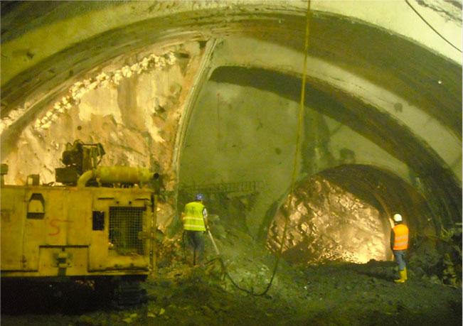 NATM excavation works, Kadıköy–Kartal Line
