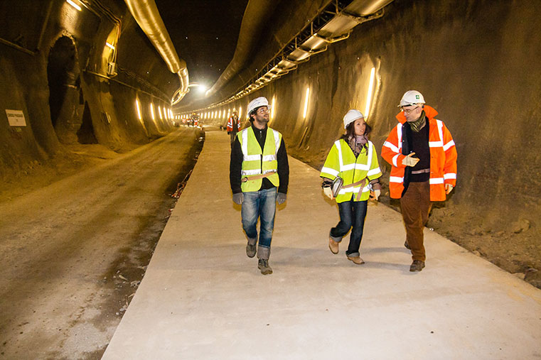 Underground construction does not have to be male exclusive